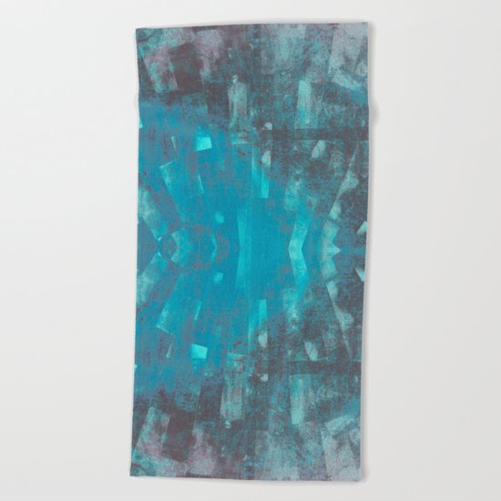 The Shard Beach Towel