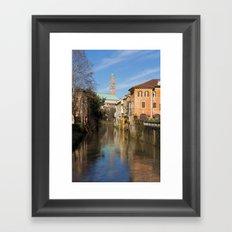 Bridge with a view Framed Art Print