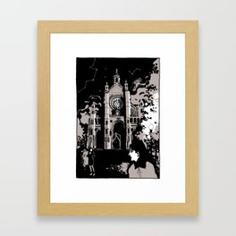 the Cathedral Framed Art Print