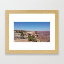 Canyon Road Trip Framed Art Print