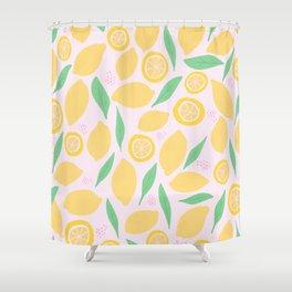 Pink Lemonade II Shower Curtain