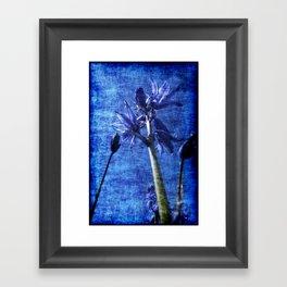 Bluebell Denim Framed Art Print