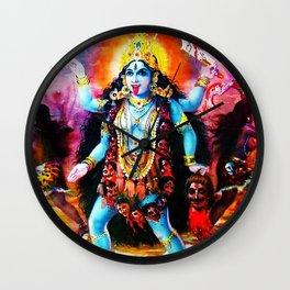 Hindu Kali 19 Wall Clock