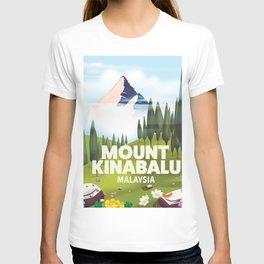 Mount Kinabalu Malaysia T-shirt