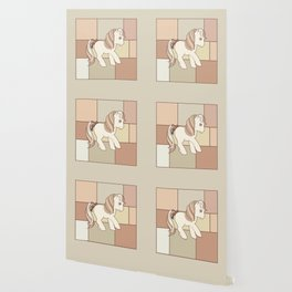 g1 my little pony abstract beige Wallpaper