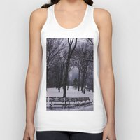 central park Tank Tops featuring Central Park by Leah Moloney Photo