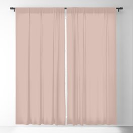 Light Pastel Pink - Rose- Carnation Solid Color Parable to Sunset Curtains 1007-10B by Valspar Blackout Curtain