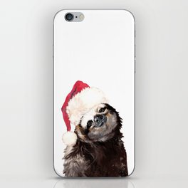 Christmas Sloth iPhone Skin