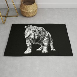English Bulldog Rug