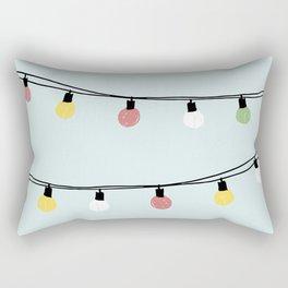 Fiesta and Lampions Rectangular Pillow