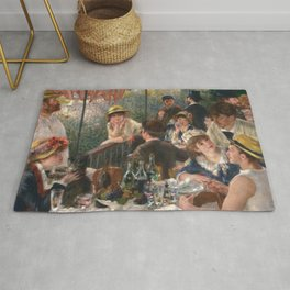Auguste Renoir, Dance At Le Moulin Rug