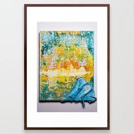 Tropical Wedge Framed Art Print