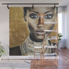 Graceful Ebony Wall Mural