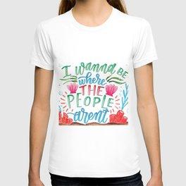 I Don't Like People T-shirt