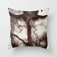 anatomy Throw Pillows featuring Anatomy by Fred Byrd Photo