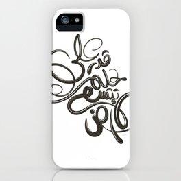 على قدر حلمك تتسع الأرض iPhone Case