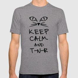 BX Feral Cat Care - Keep Calm and TNR T-shirt