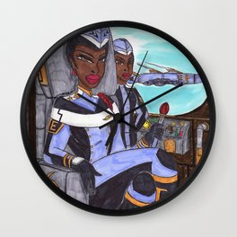 The Huntress Wall Clock