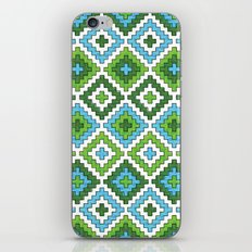 Macrame Green iPhone & iPod Skin