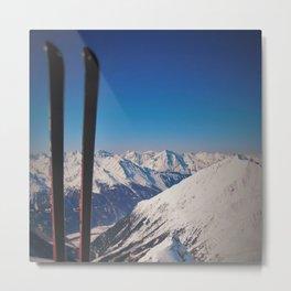 ski Metal Print
