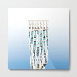 Architecture Pop Metal Print