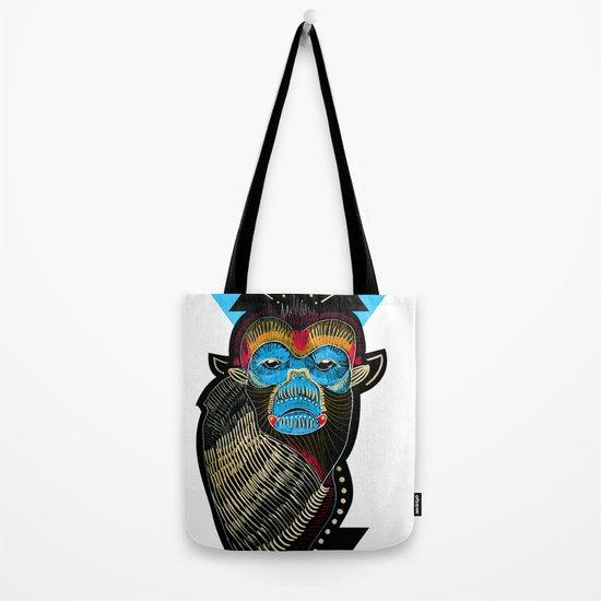 Color me Monkey Tote Bag