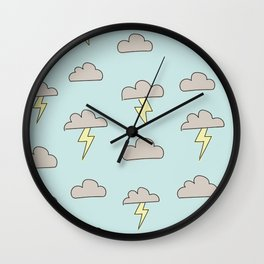 Storm in a Teacup Wall Clock