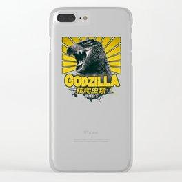 Godzilla Clear iPhone Case