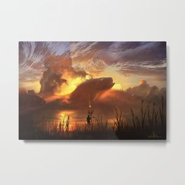 a world ruled by nature Metal Print