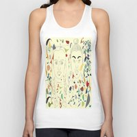 japan Tank Tops featuring Japan by March Hunger