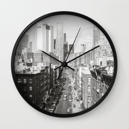 Lower East Side Wall Clock