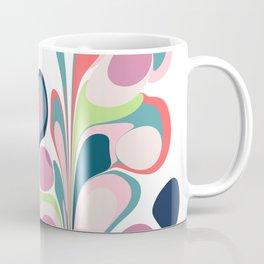 Colorful Abstract Floral Design Coffee Mug