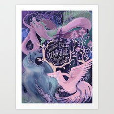 Enchanted Menagerie Art Print
