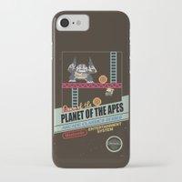 ape iPhone & iPod Cases featuring Ape not kill ape by Berta Merlotte