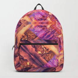 Temple of the Sky God Mandala Backpack