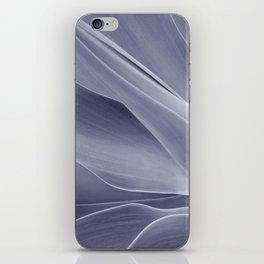 Purple Agave Attenuata iPhone Skin