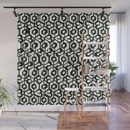 Blac & White  Wall Mural