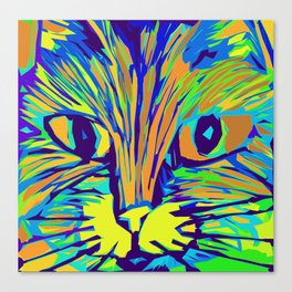 Orange Kitty 3 Canvas Print