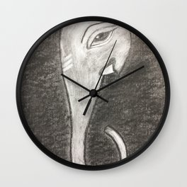Lord Ganesh Wall Clock