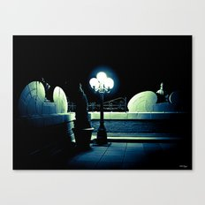 Midnight Stroll Canvas Print