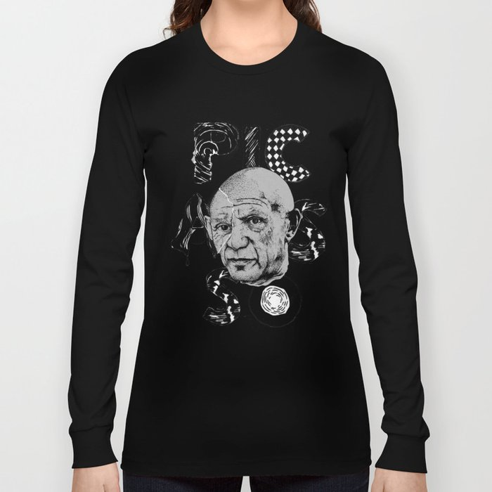Pablo Picasso - History of Art Long Sleeve T-shirt