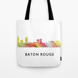 Baton Rouge Louisiana Skyline Tote Bag