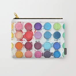 Messy Watercolors Carry-All Pouch