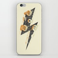 paramore iPhone & iPod Skins featuring Dj's Lightning by Sitchko Igor
