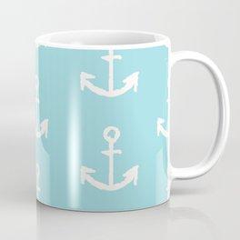 Anchor - mint blue Coffee Mug