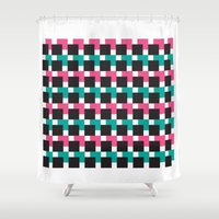 jack nicholson Shower Curtains featuring JACK by kemiemo