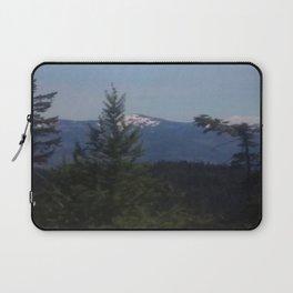 Snow Cap Mountains Laptop Sleeve