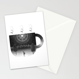 Midnight Coffee Stationery Cards