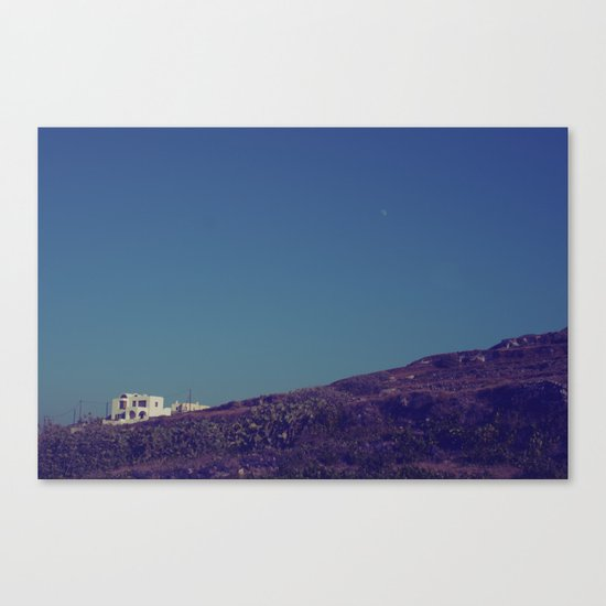 House on a Hill II Canvas Print