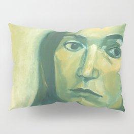 Introspective in Green Pillow Sham